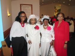 Margarets Women's Day Honor at Church